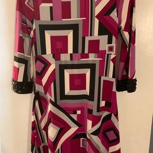 INC  Geometric with rhinestones Dress